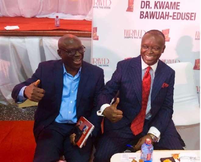 Ambassador Edusei And His Eo Group Partner George Yaw Owusu