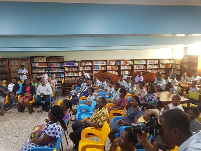 The Library Project is in honour of former Head teacher, Afua Dake