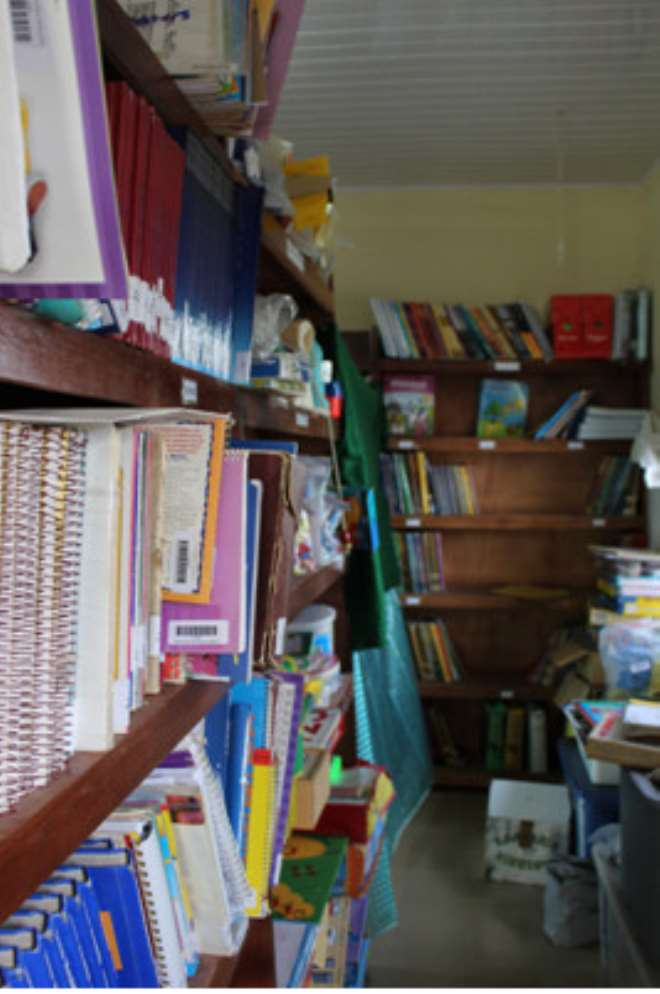 The Library At Faith Roots International Academy: Photo Taken By Lindsay Boyle
