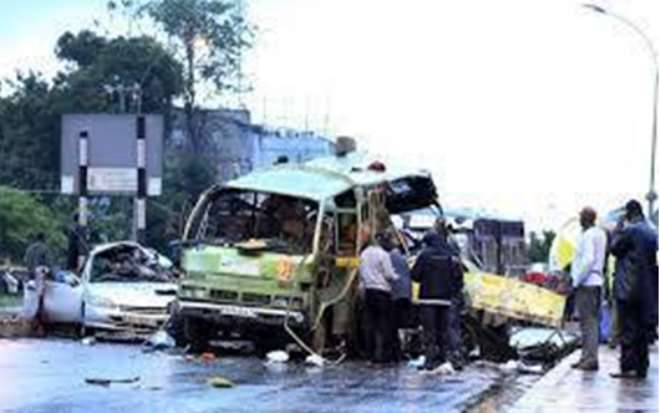 A Scene From A Bombing That Took Place On May 6, 2014 In Nairobi