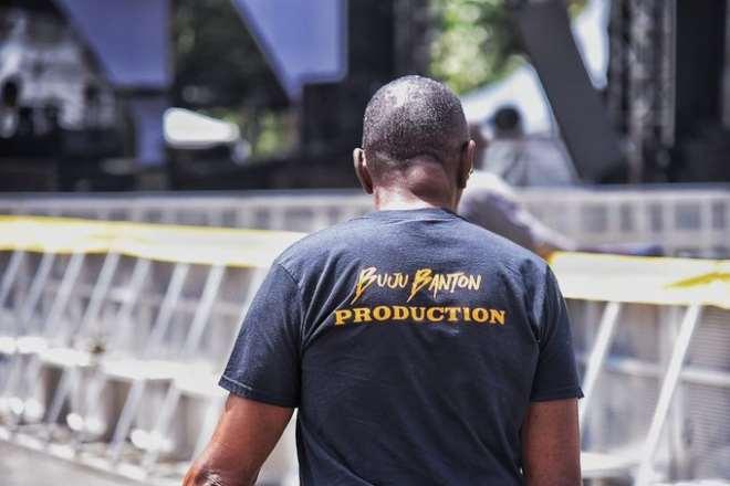 Buju Banton Concert Sound Check - Image Credits - Nrg Radio 2