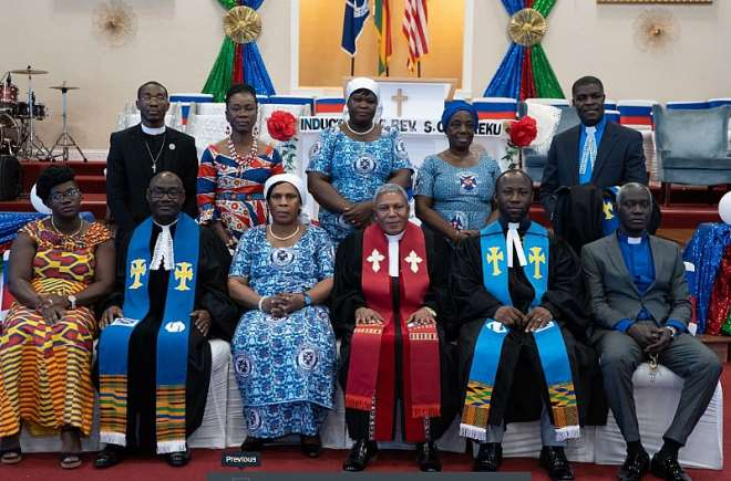 Ministers And Their Spouses Present At The Induction Service1
