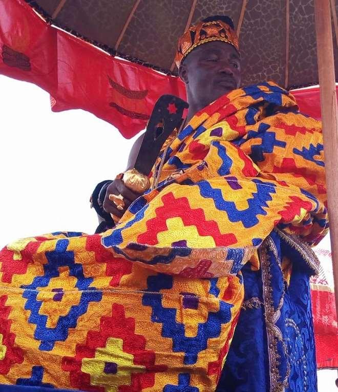 Nana Ntow Kwadwo, The Ankobeahene Of Atweasin
