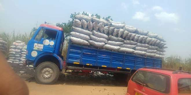 Charcoal Products Exporting From The Area To Kumasi