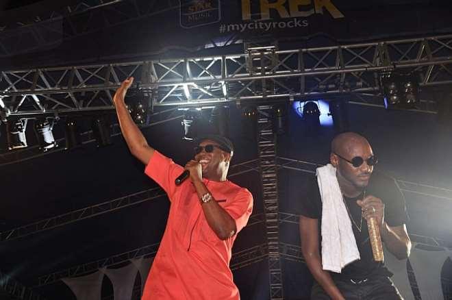 2FACE & TONY ONE WEEK AT STAR MUSIC TREK, LAGOS3
