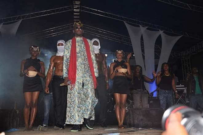 2FACE ENTRANCE AT STAR MUSIC TREK, LAGOS