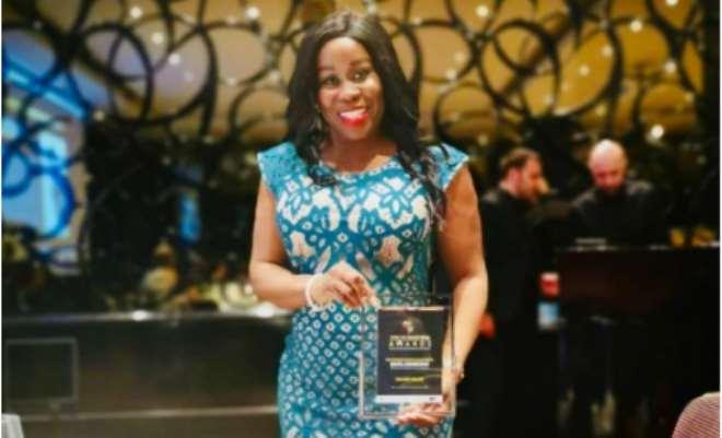 Winner Mavis Amankwah business woman