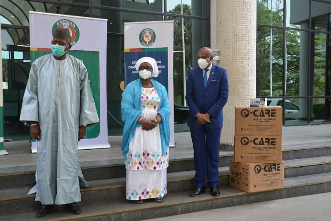 Mr. Mamadou Traore Mrs. Halima Ahmed And Prof. Stanley Okolo