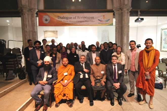 3 GROUP PICTURE OF THE PARTICIPANTS THE HWPL DIALOGUE OF SCRIPTURES IN LONDON
