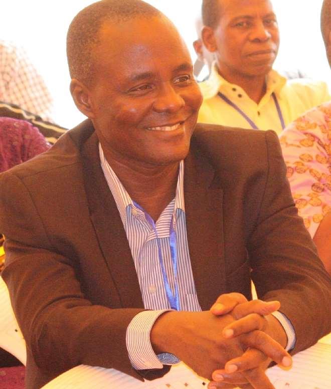 Ugochukwu Ejinkeonye at a Leadership Seminar, January, 2016