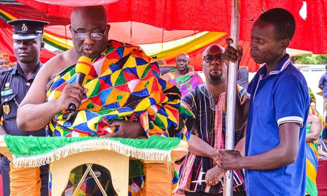 Railways Minister, Hon. Joe Ghartey
