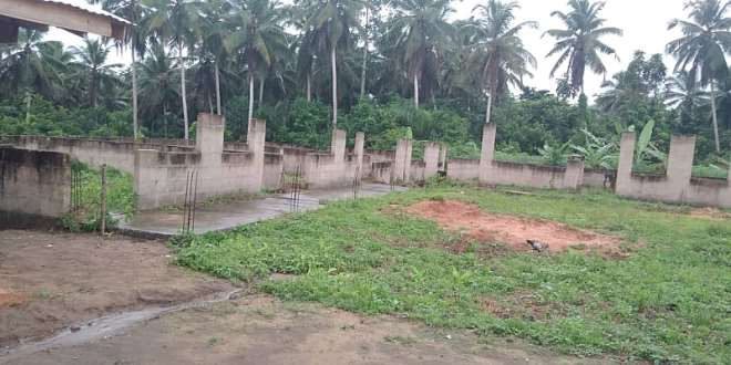 Mbem MA Basic School Classroom Project abandoned in 2017