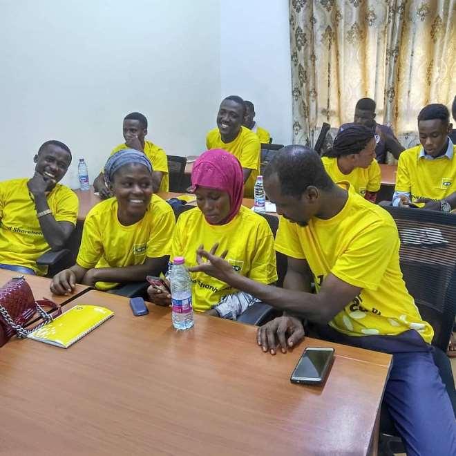 618201993828 j4eq27t2gb mtn staff volunteers training beneficiaries in tamale