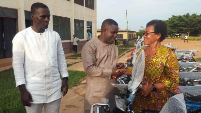 63201962832 8dt2wjivvq municipal education director receives items from the hon benjamin yeboah sekyere1