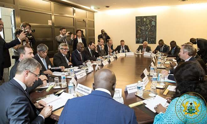710201924424 1j841p5cbv president akufoaddo at a roundtable meeting with selected members of the french business community