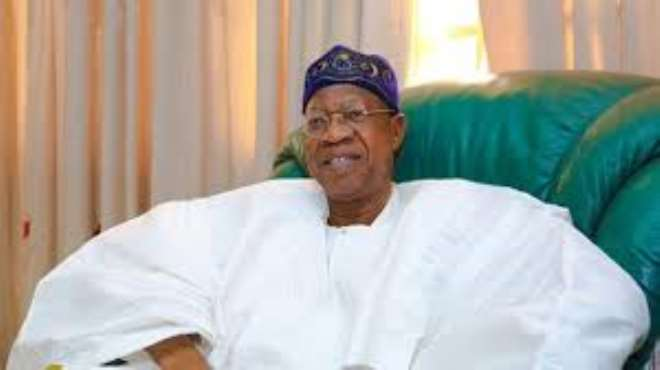 Mr. Lai Mohammed, Nigeria's Minister Of Information And Culture