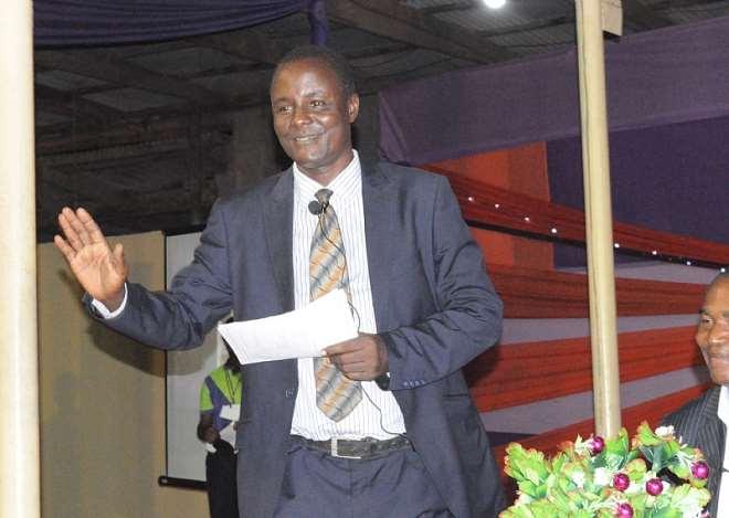 Ugochukwu Ejinkeonye Addressing About 4,000 Youths At A Youth Development Seminar In Lagos In August 2012