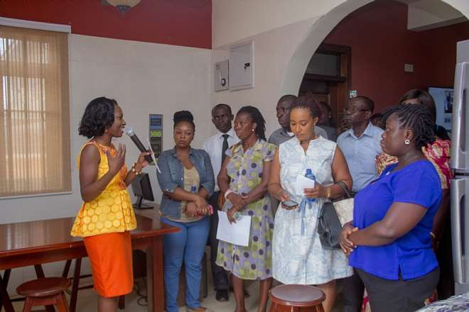 Dr. Genevieve Kumapley Speaking Briefing Some Participants