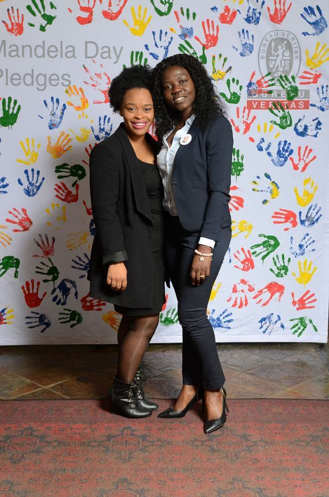 Corporate Responsibility Committee Members Musa Mazibuko (left) And Mashudu Lembede