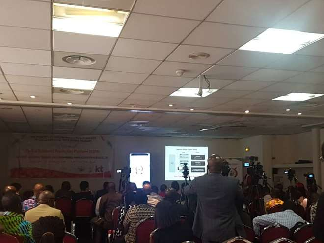 Official unveiling of the GEPP Platform in Accra
