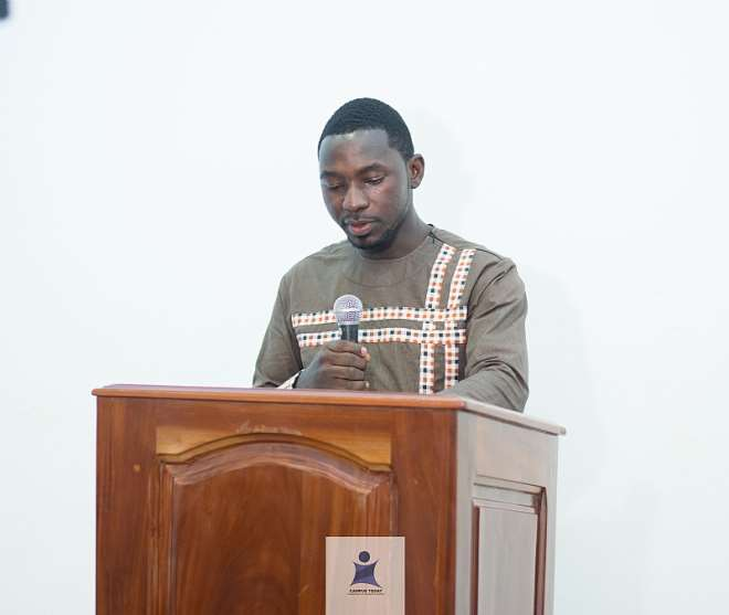 Mr. Kwabena Boakye Owusu-Ansah (Executive Director, Campus Today)