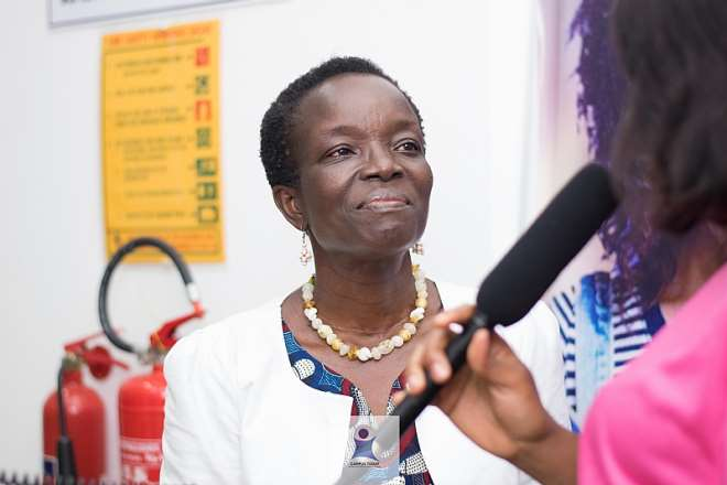 Mrs Gloria Appoh (Director, Academic Affairs, GIMPA)