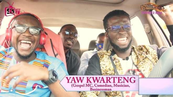 Yaw Kwarteng And Skbeatz Records On A Ride