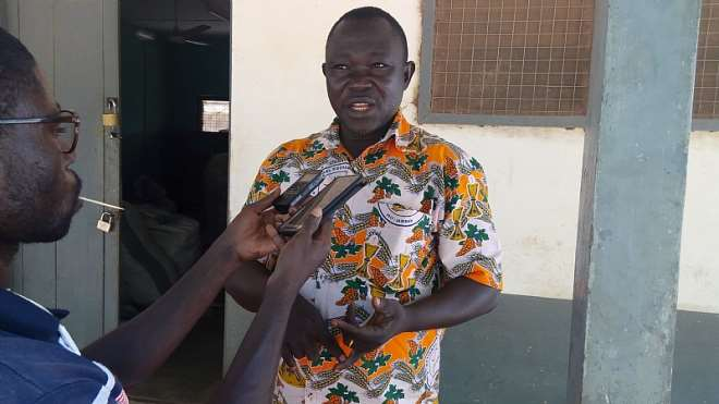 Mr Peter Asongre (phd Student) Plant Breeder At The Manga Agriculture Research Station Bawku