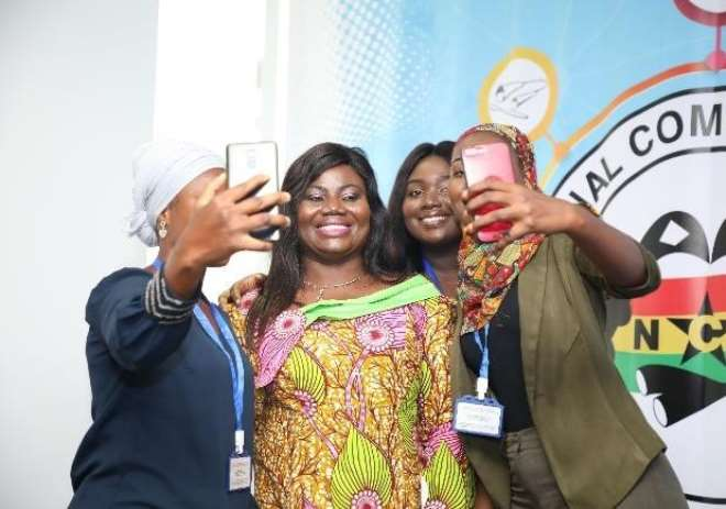Selfie Time With The Cop Maame Tiwaa Addo-danquah And Mr. Joe Anokye1