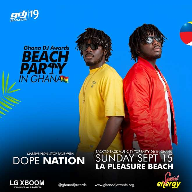 Beach Party In Ghana Dope Nation
