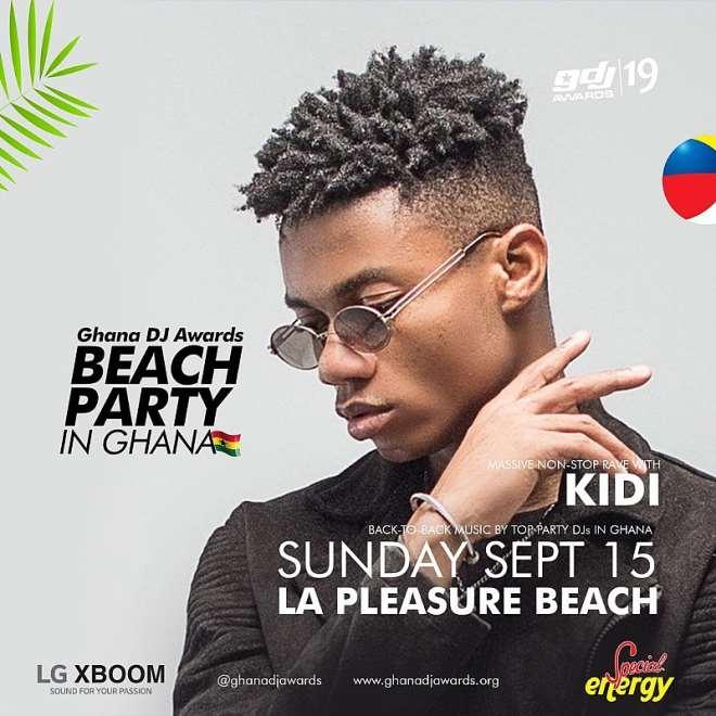Beach Party In Ghana Kidi