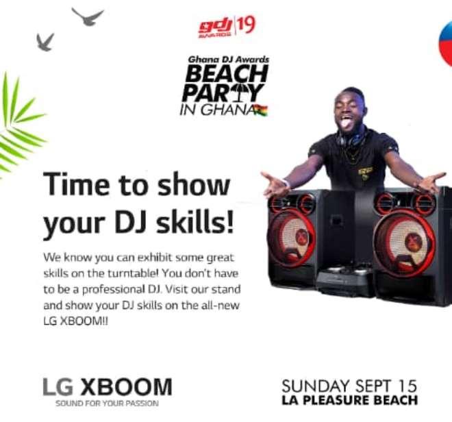 Beach Party In Ghana Lg X Boom