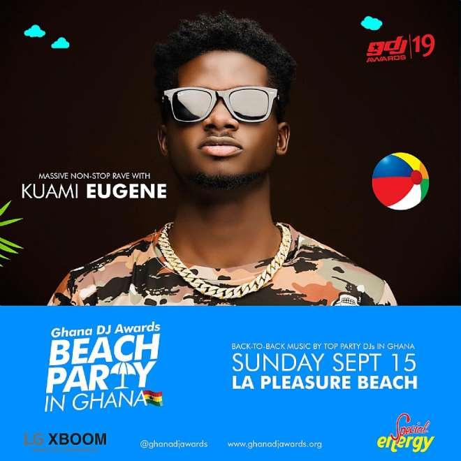 Beach Party In Ghana Kuami