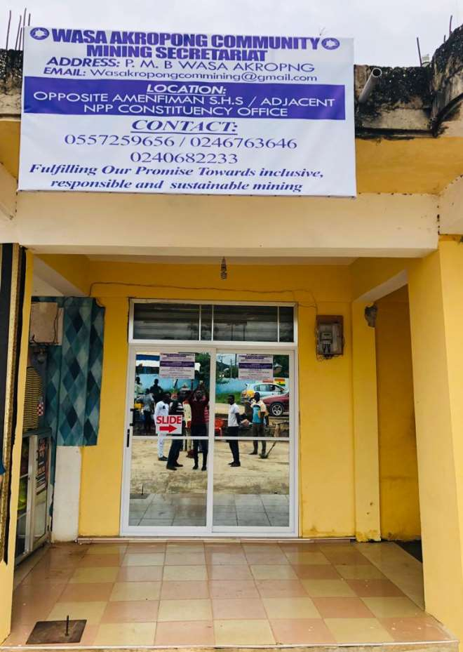 Wassa Akropong Community Mining Secretariat
