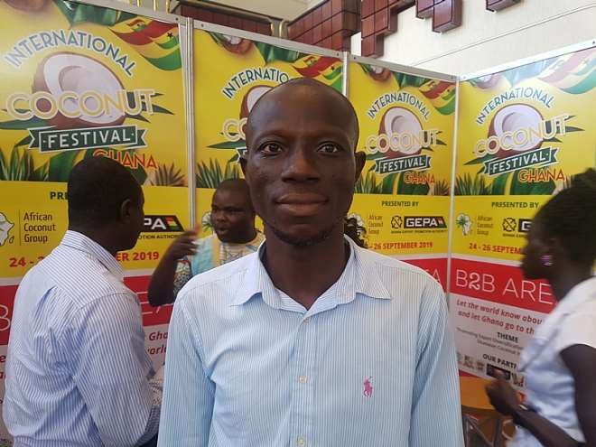 Kwaku Boateng (one of the Directors of African Coconut Group)