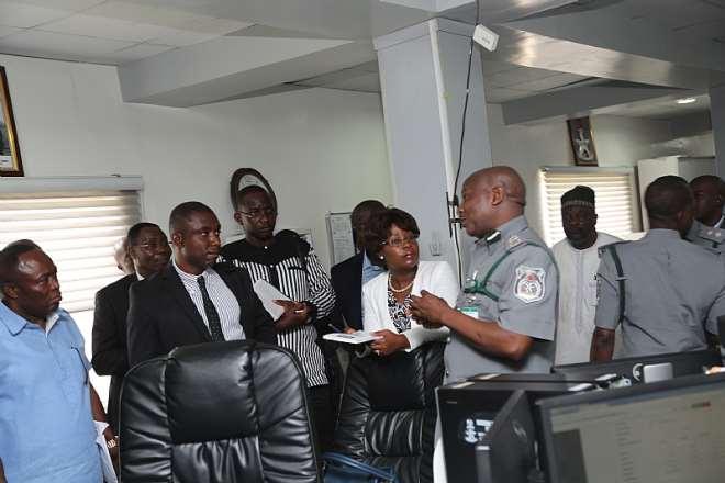 ACG ICT, MR UMAR ADDRESSING THE DELEGATES
