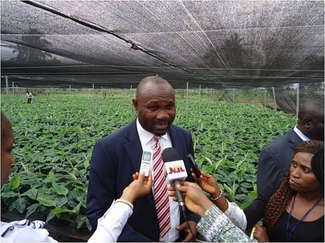 AGRIC 11 - THE HON. COMMISSIONER FOR AGRIC. FIELDS QUESTIONS FROM THE TEAM OF JOURNALISTS