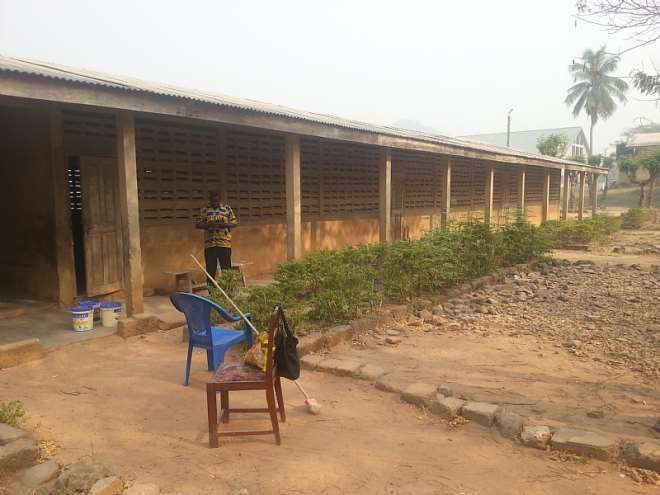 AKOSOMBO RC PRIMARY BEFORE PAINTING