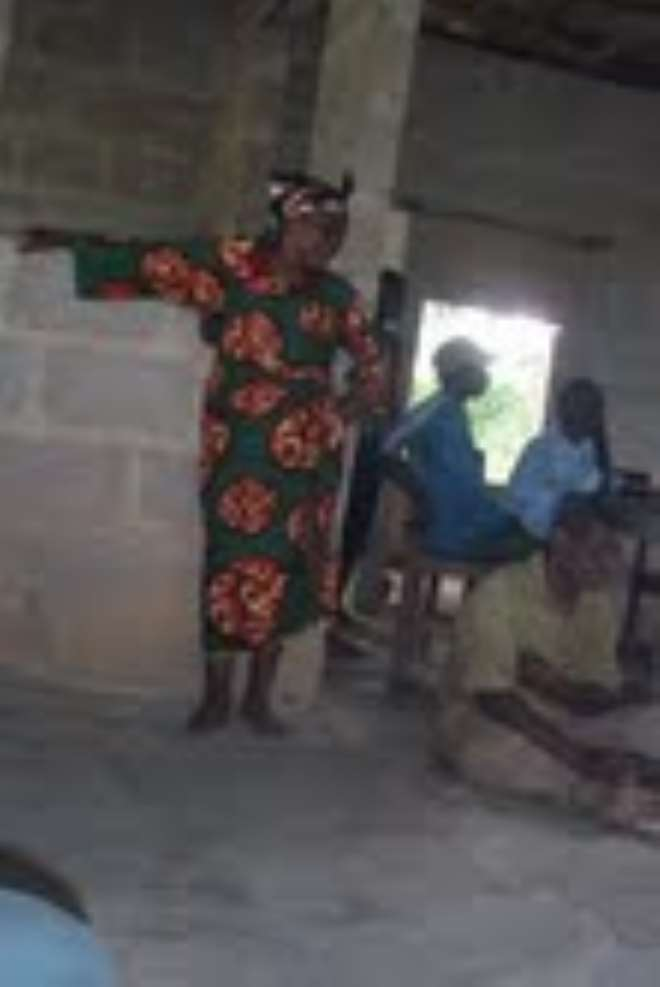 AKWA IBOM ALLEGED 'WITCH' STUBBORNLY STOOD UP CLAIMING INNONCE