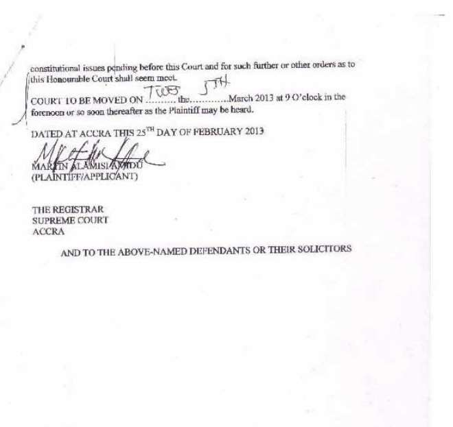 amidu v isofoton  application for status quo page 02