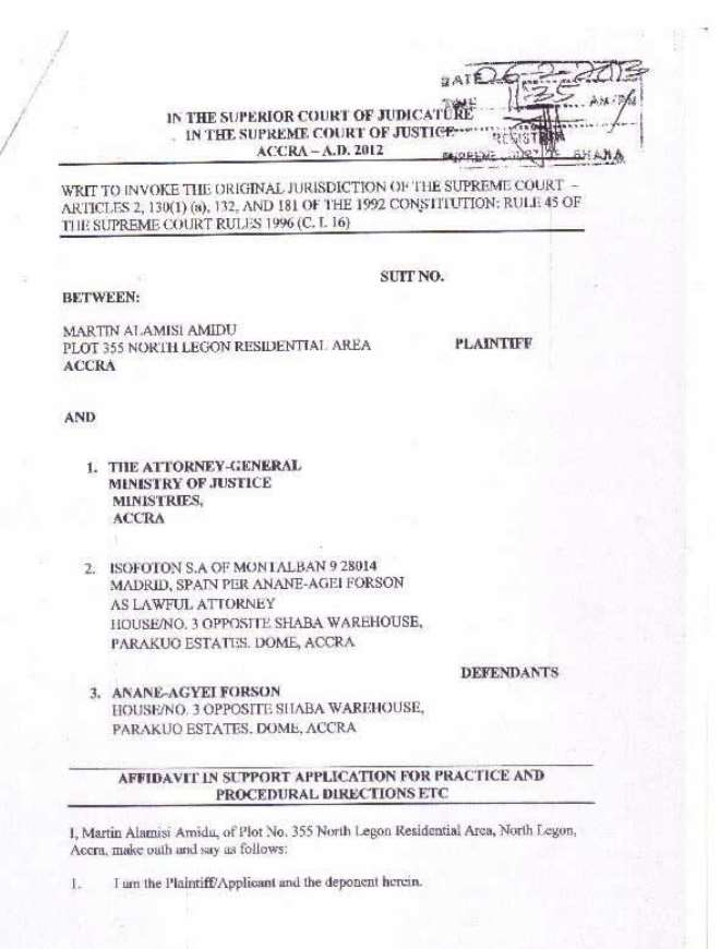 amidu v isofoton  application for status quo page 03