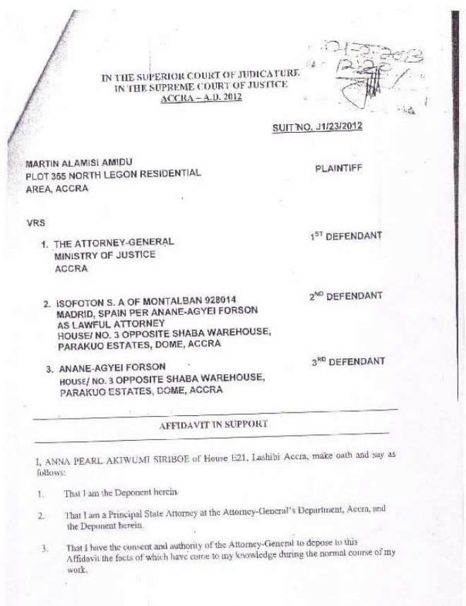 amidu v isofoton  application for status quo page 10