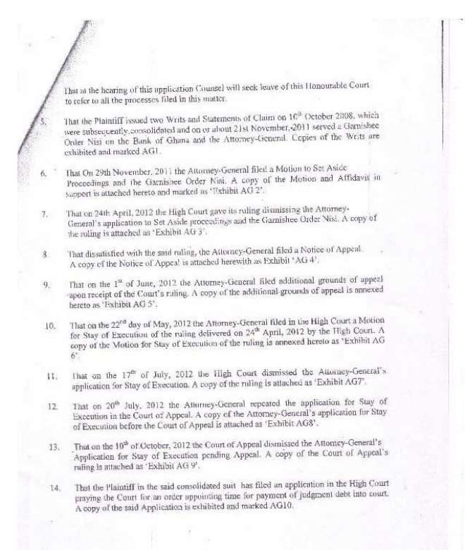 amidu v isofoton  application for status quo page 11
