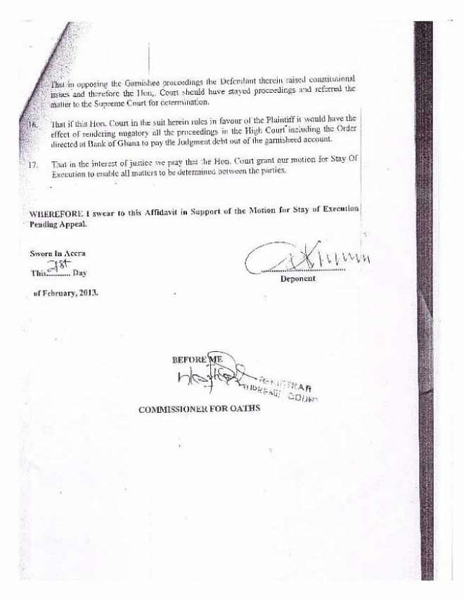 amidu v isofoton  application for status quo page 12