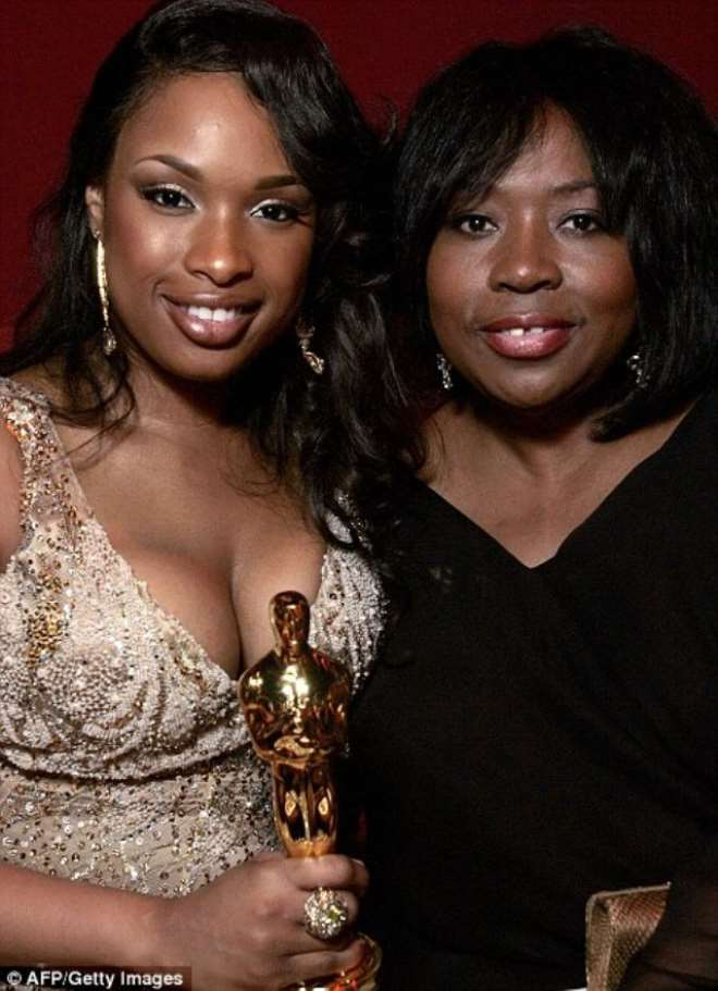 Jennifer Hudson and her mother Darnell, who has been shot dead in an incident in Chicago