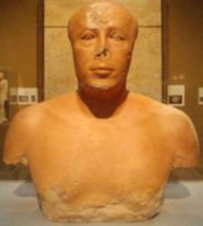 Bust of Prince Ankhhaf, Egypt,