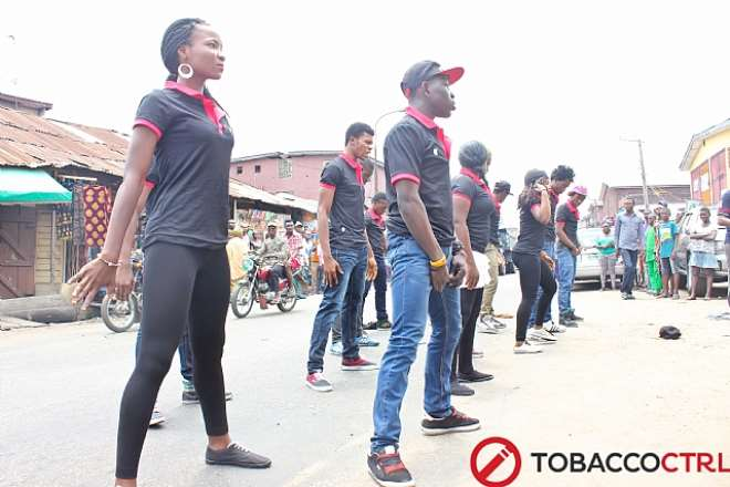 DANCERS ON THE STREETS FOR TCRL SOCIAL MEDIA LAUNCH
