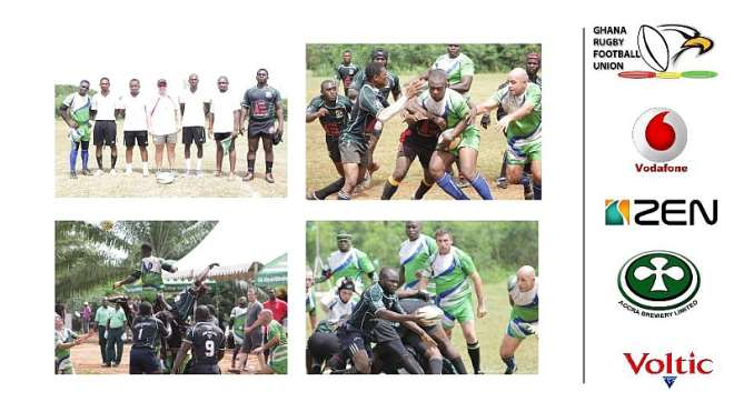 In a tightly contested final of the 2014/15 Ghana Rugby Club Championship a historic milestone in Rugby was achieved when Cosmos Buffaloes RFC emerged winners of the  first professionally run Rugby Club Championship for the past 11 years at the Legon Park on Saturday when they beat Idas Sports RFC 19 points to 9.