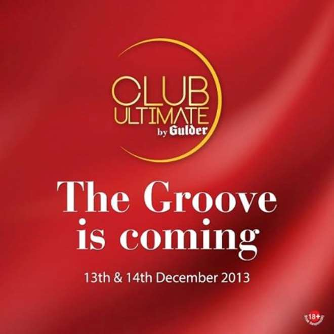 THE GROOVE IS COMING 13TH AND 14TH DECEMBER 2013