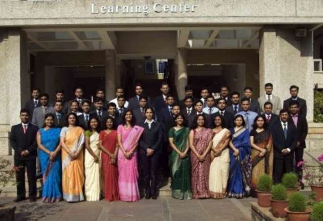 Class of 2009, the Defense Officers Batch undergoing management training at XLRI Jamshedpur.